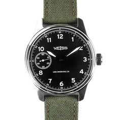 Standard Issue Field | WEISS watch front