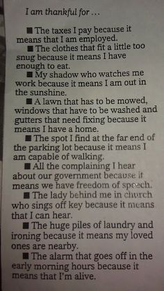 Perspective....it is all about how you look at things! :)