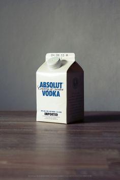 vodka milk