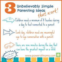 three minut, parent idea