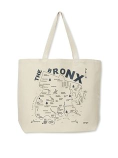Maptote The Bronx Beach Tote, Charcoal Grey at MYHABIT