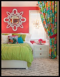 Pretty little girl's room!