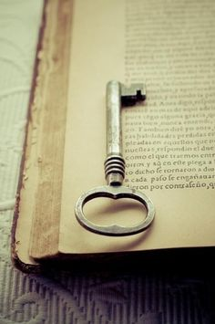 old book, old key