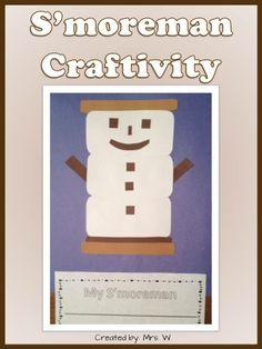 Winter Craftivity - S'moreman
