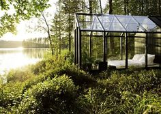 cabin, dream, guest houses, sleeping rooms, greenhous, place, garden, glass houses, bedroom