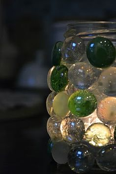 porta candela #faidate mosaic tea, baby food jars, craft, glass jar mosaic, candle holders, easy diy wedding gifts, creation idea, tea light holders, tea lights