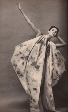 Richard #Avedon #retro #Fashion #Model