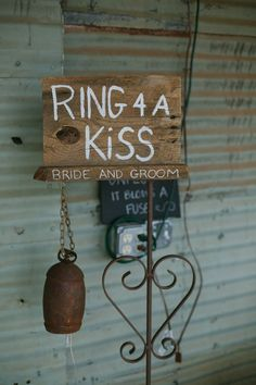 Ring For A Kiss Sign