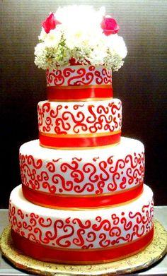 Delish Cakes   www.delishcakes.net #wedding #cake