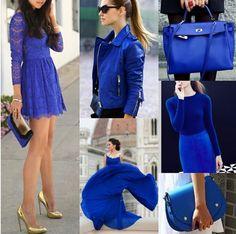 Azul cobalto Moda