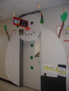 Winter Classroom Door Decorations | Crafty Chicks: Classroom Door- Christmas/Winter