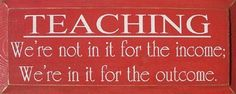 This is what I'm going to say every time someone asks me why I would ever go into teaching...
