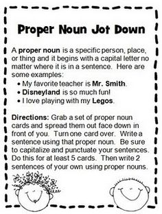 noun practice without another boring worksheet... =D