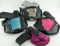 Women colored holsters