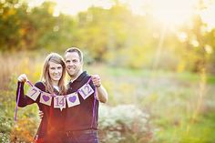 Wedding Date Banner Save the Date Hearts Custom by Studio1621, $16.00