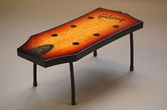 High Quality Gibson Les Paul Inspired Coffee Table EBay .