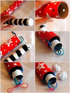 DIY Cardboard Rocket Launcher Toy #rocket