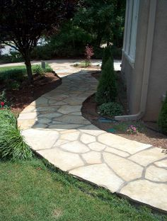 brown crab orchard sidewalk luxury hardscaping ideas luxury hardscaping ideas #luxury #hardscaping #ideas