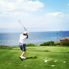 A priceless shot within 10 feet of the flag at Pelican Hill Golf Course www.pelicanhill.com | The Resort at Pelican Hill, Newport Beach, CA | #pelicanhillresort #memories #golf
