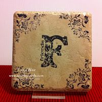 Stamping on tiles- I am going to try this