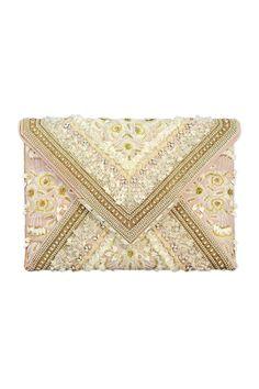 Marchesa Handbags Elisa Envelope Clutch