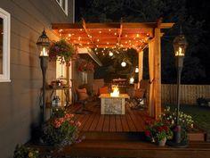 decks with pergolas, pergola design, patio decks, lighted patio, deck pergola ideas