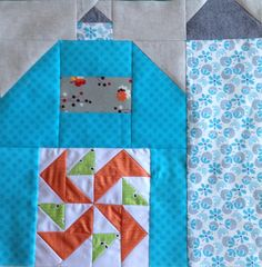 dream quilt create: The Quilty Barn Along, Silo Barn #3