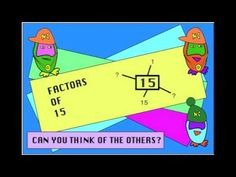 ▶ Multiples and Factors Song: ADAM UP - Maths Adventures - YouTube