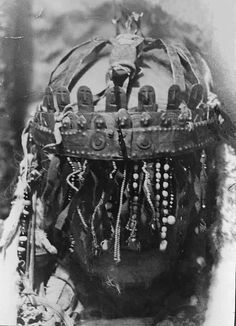 Shaman headgear from the Aleutians