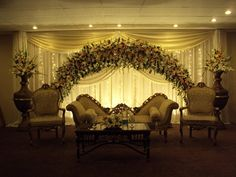Brilliant look and gives an instant effect of the Wedding Theme.