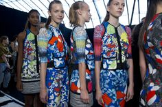 Peter Pilotto SS12: Welcome to the home of fashion innovation – it has to be London Fashion Week #topshop #LFW #SS12 #PeterPilotto Read our show review