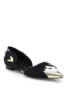 Need these Alice + Olivia Lilith Unicorn d'Orsay Flats