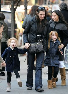 Brooke Shields & Daughters  Brooke Shields is a native New Yorker.