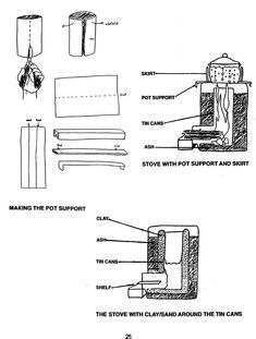 How to Build A Rocket Stove DIY AT HOME