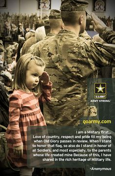 Celebrating our Army Brats this month--Month of the Military Child by goarmyphotos, via Flickr