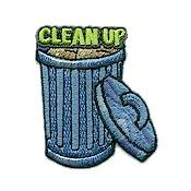Clean Up Fun Patch from MakingFriends.com. Do a beach clean up and get this fun patch as a reward!