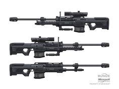 isaac hannaford, sniper rifles