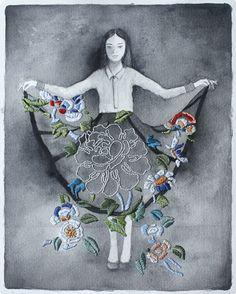 Izzyana Suhaimi - Embroidered memories