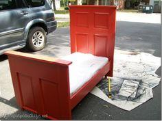 Door - toddler bed