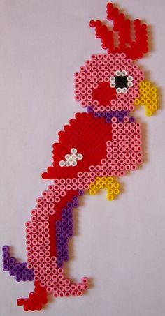 Parrot Hama perler