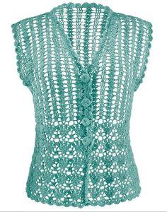 Camisetas de crochet con patrones | SexyCrochet.COM