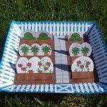 Spring craft, Garden Craft, Spring Paper Craft