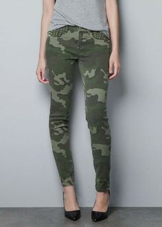 women's camo clothing | 2013-New-Women-s-Clothing-Slim-Pockets-Rivets