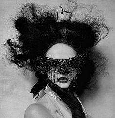 beaded mask…