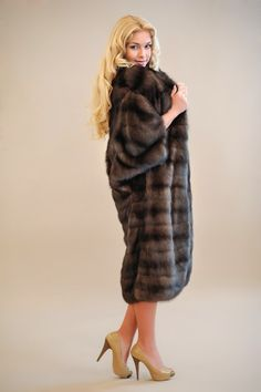 sable fur coat - wow!