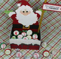 Santa Candy Box