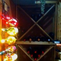 Wine cellar ideas on pinterest wine cellar hallway Turn closet into wine cellar