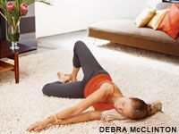 Crick Fixes.  Tension can be a pain in the neck, literally.  Master these gentle yoga moves to create lasting ease.