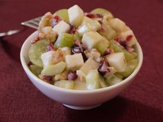 Waldorf Salad on Weelicious