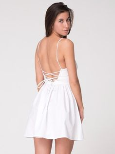 American Apparel - Tie Back Dress